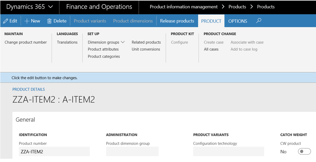 Go live experience - Item issues on import in D365FO - D365Tour